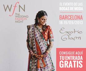 The Wedding Fashion Night BCN 2013